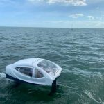 Look at the testing of the flying electric boat SeaBubbles in Miami