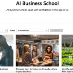 Microsoft launched free online courses on the use of artificial intelligence in business