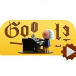 Doodle Google slaví den Johanna Sebastiana Bacha