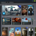 Valve announced a redesign on Steam for the Library and news pages