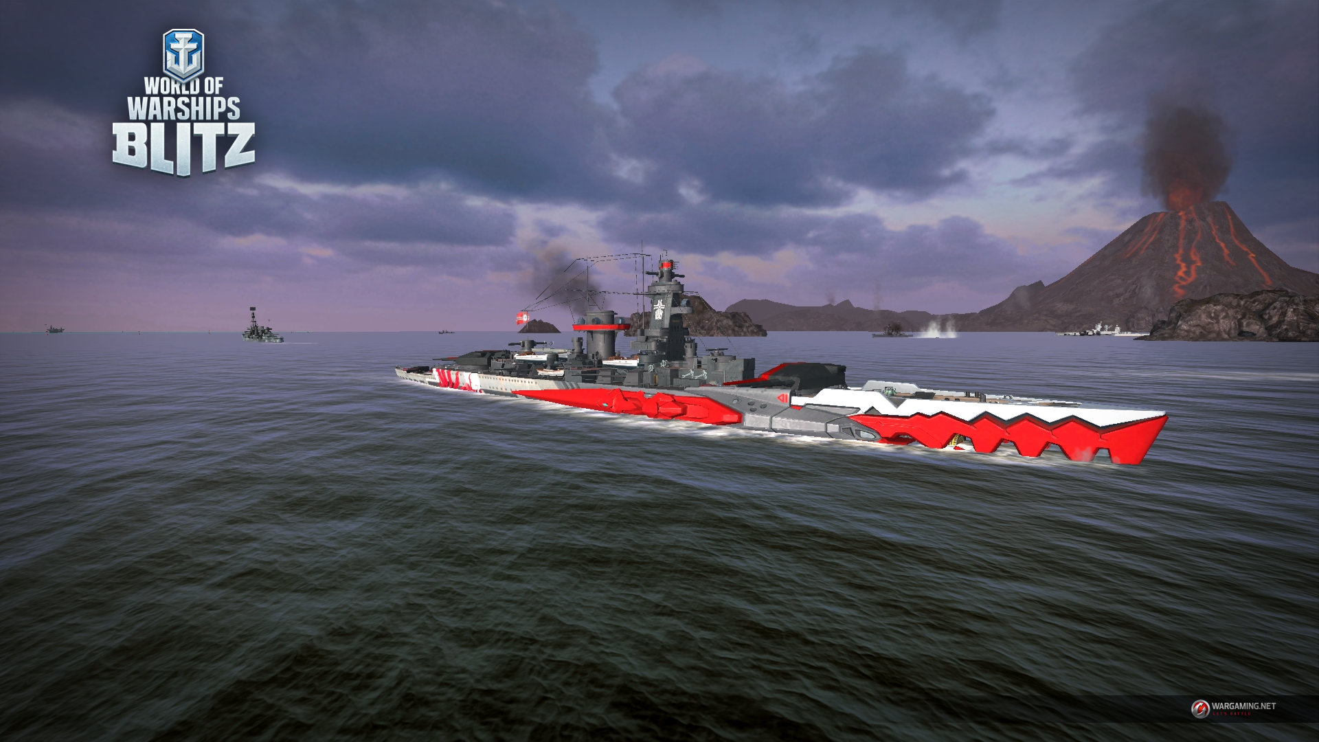 In World of Warships Blitz will add ships with a touch of