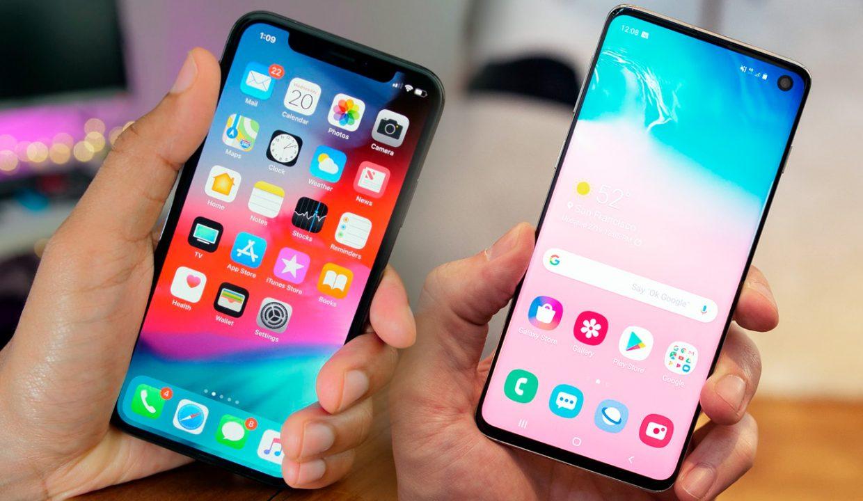 リーダーの戦い Galaxy S10とiphone Xsを比較する Geek Tech Online