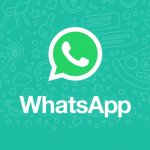 A dark interface will also appear in the WhatsApp application.