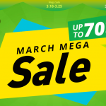 Geekbuying launched the March Mega Sale mega sale