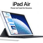 Apple launches new iPad Air and iPad mini 5
