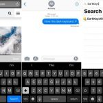 Tweak DarkKeysXII will make your iPhone's keyboard dark