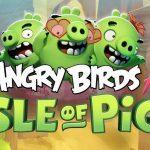 Rozzlobený ptáci pro iOS v rozšířené realitě