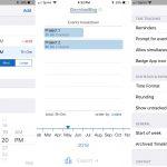 Nejlépe časové plánování aplikace pro iPhone