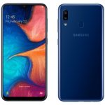 Samsung Galaxy A20: another A-series smartphone with an Infinity-V, NFC screen and 4000 mAh battery