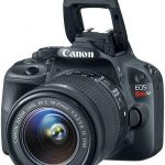 Canon officially unveiled the most compact digital SLR camera EOS 100D