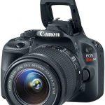 كشفت كانون رسميًا عن كاميرا SLR الرقمية الأكثر ضغطًا EOS 100D