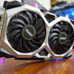 MSI introduced a series of available video cards based on the GeForce GTX 1650