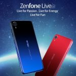 Asus ZenFone Live (L2): state budget with a Snapdragon 425/430 chip, gradient colors and Face Unlock function