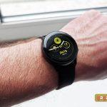 Samsung Galaxy Watch مراجعة نشطة: أنيقة ورياضية وعملية