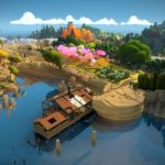 The colorful puzzle The Witness became free in the Epic Games Store