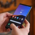 Galaxy Note 9 received a new system update: improved camera and dark mode on a schedule