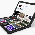 Lenovo zeigte einen Prototyp eines flexiblen ThinkPad X1-Notebooks