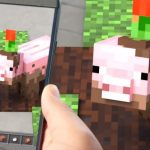 Mobile Minecraft in Augmented Reality