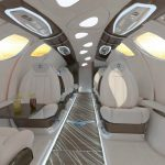 An African company will develop a vertical take-off business aircraft.
