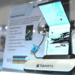 Tianma demonstrated a 7.4-inch folding display on Computex 2019