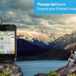 Proměňte svůj iPhone na satelitní telefon s Thuraya SatSleeve