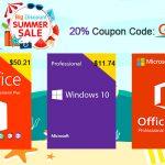 Літній розпродаж URcdkey: Windows 10 Pro за $ 11 і інші акції