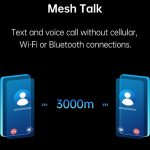OPPO MeshTalk: a technology that allows you to call and send messages without the Internet and mobile networks