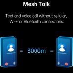 OPPO MeshTalk: Eine Technologie, mit der Sie ohne Internet und Mobilfunknetze anrufen und Nachrichten senden können