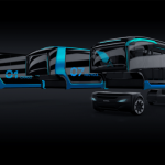 Scania has developed a modular electric bus. He transports people during the day and garbage at night.