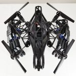 The startup Youbionics introduced the drone with two bionic hands. Anyone can print it.