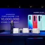 Huawei reported on deliveries of smartphones of the P30 series: in 85 days the company shipped 10 million devices