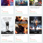 Scope on savings: in Origin started selling shooters with discounts up to 85%