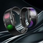 Wearable displays instead of folding smartphones?