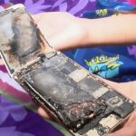 iPhone 6 caught fire in the hands of an 11-year-old girl
