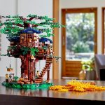 Details of the new designer Lego made from sugar cane