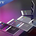 Sony is working on a folding smartphone with temperature, pressure and acceleration sensors