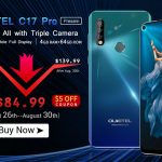The fashionable OUKITEL C17 Pro went on sale for only $ 84.99