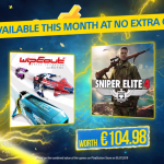 In August, PlayStation Plus subscribers will get Sniper Elite 4 and WipEout Omega Collection