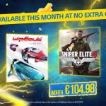 Elokuussa PlayStation Plus -tilaajat saavat Sniper Elite 4: n ja WipEout Omega -kokoelman