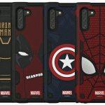 يتلقى Samsung Galaxy Note 10 حالات Marvel الرسمية