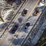 In the afternoon, Pro Street, and in the evening, Carbon: EA showed the Need for Speed Heat gameplay
