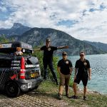 Rally riders went to the small car from Prague to Ulan-Ude to raise money for charity