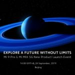 Officially: the flagship Xiaomi Mi 9 Pro and Mi Mix 5G will be presented on September 24