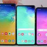 Älypuhelimet Samsung Galaxy S10 ja päivitys saivat kamerassa Galaxy Note 10 -ominaisuuden