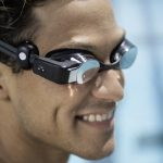 Form Swim Goggles swimming goggles begin to show heart rate
