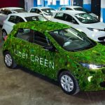Electric cars Uber Green in Ukraine traveled 8 million kilometers