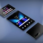 What will be the heir to the folding smartphone Samsung Galaxy Fold