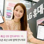 Společnost LG uvedla, když vlajková loď G8 ThinQ a V50 ThinQ získají Android 10