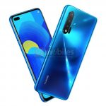 Huawei Nova 6 5G appeared on the image: the smartphone will receive a dual selfie camera, like the Galaxy S10 +