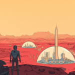 Epic Games Store gives Surviving Mars - the simulator of the colonizer of Mars